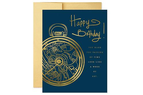 Work of Art Birthday Card