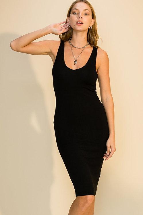 La Mer Dress - Noir