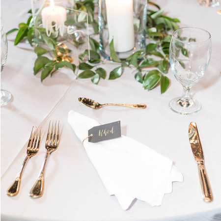 Table numbers & placecards