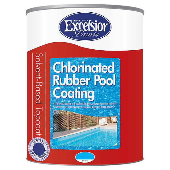 Chlorinated Rubber Pool Rubber Coating