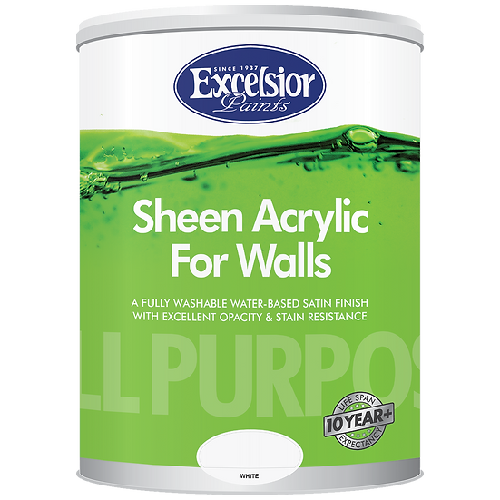 All Purpose Sheen Acrylic for Walls