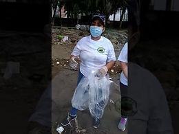 Primera jornada de limpieza de la playa Mirador de Costa del Este