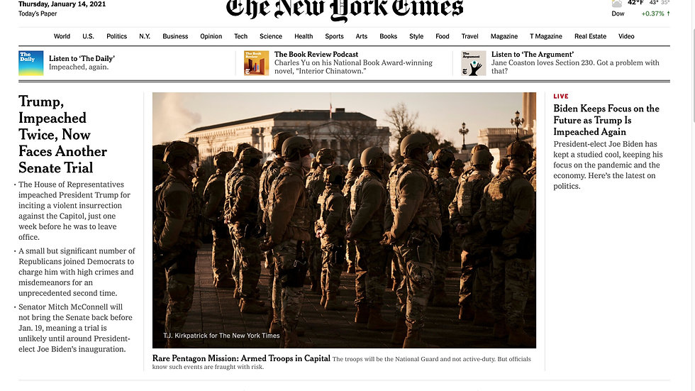 N.Y. TIMES – from 11/27/20