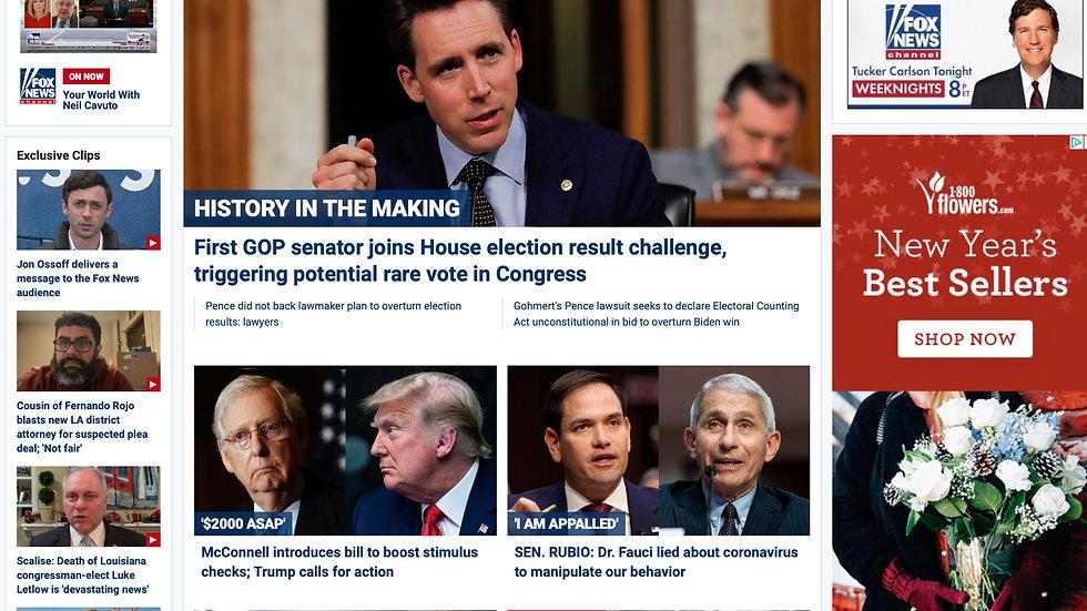 Fox News – from 10/2/20