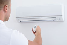 Klimaanlage und Servicemonteur