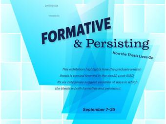 """MA Alumni Represented in """"Formative & Persisting"""" Show"""