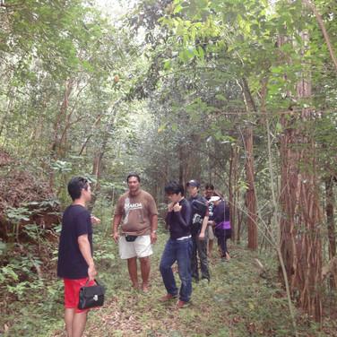 2011年初めての探検