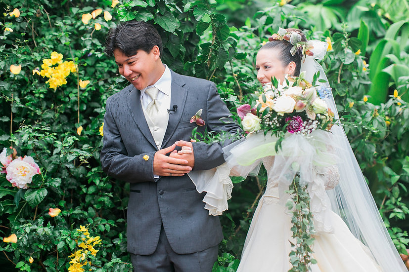 Home wedding...wedding shoots