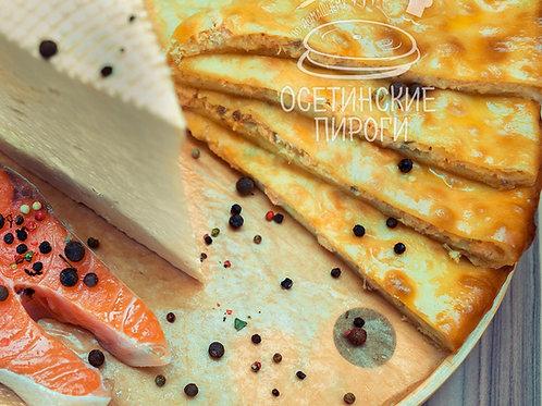 С кетой и сыром