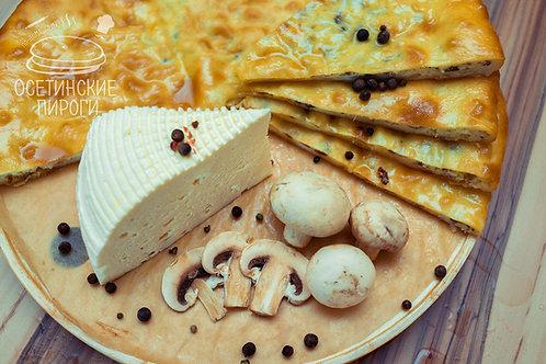 С шампиньонами и сыром
