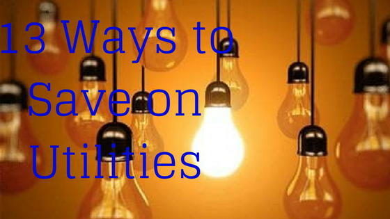 13 Ways to Save on Utilities