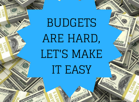 Staying on Budget Isn't Easy