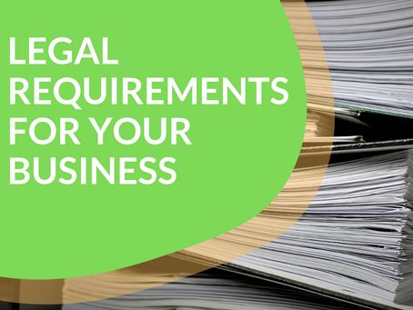 Legal Requirements for Your Business
