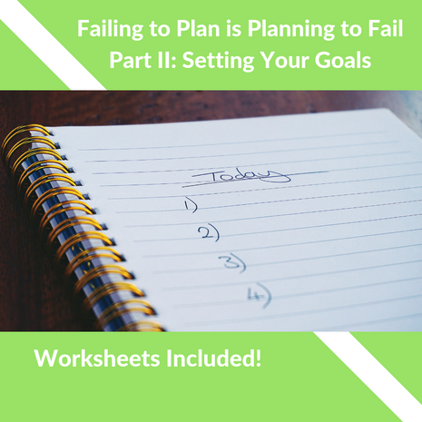 Failing to Plan, Is Planning to Fail II