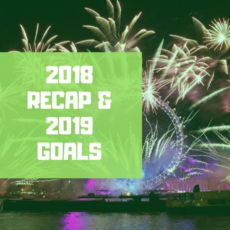 2018 Recap & 2019 Goals