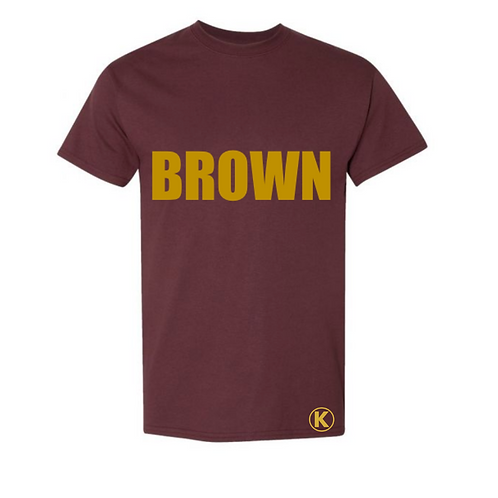 Brown & Gold