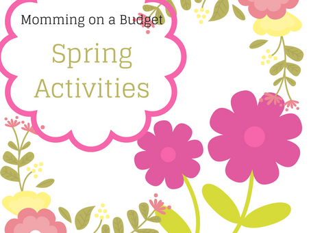 Cheap Spring Fun for Kids