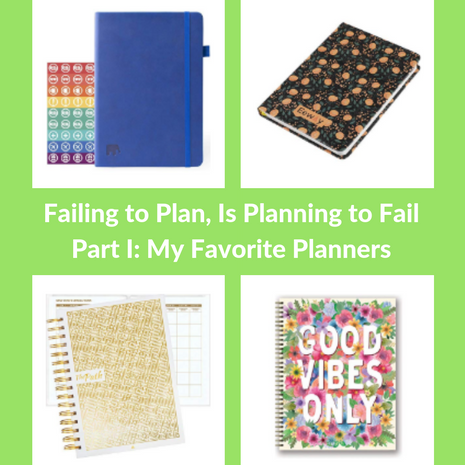 Failing to Plan, Is Planning to Fail!