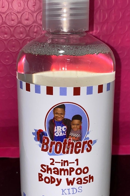 Brothers 2-n-1 Shampoo/Body Wash