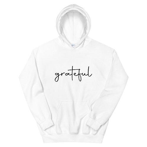 Grateful Hoodie - White