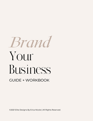 Brand Your Business Guide + Workbook