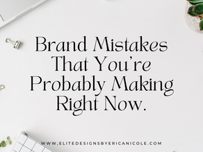 Are You Making These Mistakes?