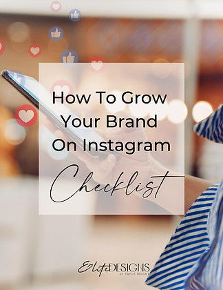 How To Grow Your Brand On Instagram Checklist