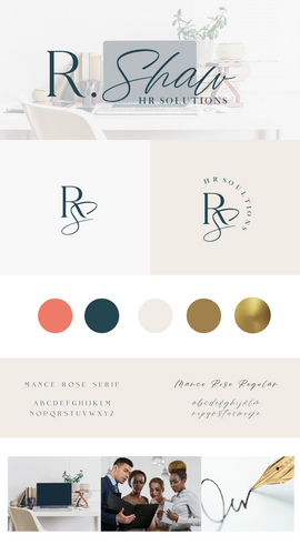 R. Shaw HR Solutions BRAND STYLE GUIDE.p