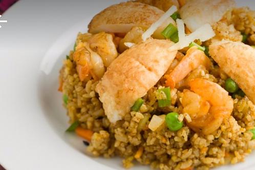 海老カリーチャーハン(Shrimp Curry Rice)