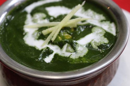 ほうれん草チキンカレー(Spinach Chicken Curry)