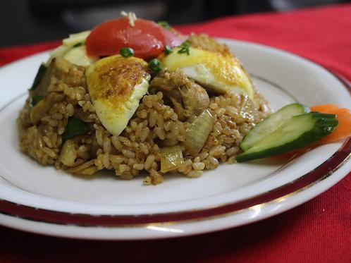 チキンカリーチャーハン(Chicken Curry Rice)