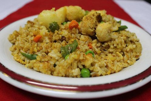 野菜フライドライス(Vegetable Fried Rice)
