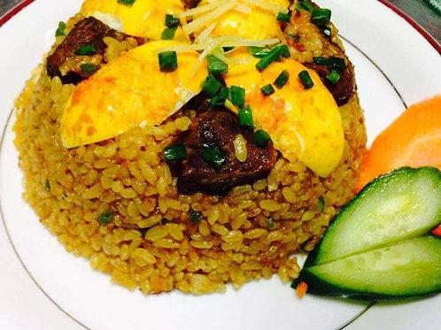 マトンカリーチャーハン(Mutton Curry Rice)