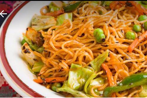 野菜チャウミン(Vegetable Chowmein)
