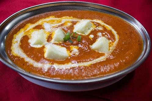 バターパニールカレー(Butter Paneer Curry)の複製