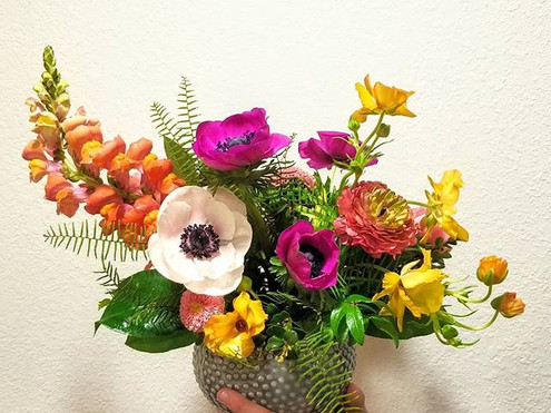 Loved creating this arrangement with tro