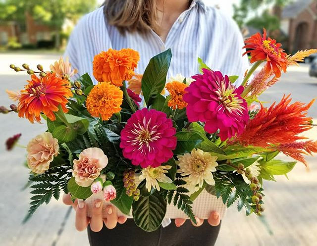 Gorgeous late-summer blooms on hand this