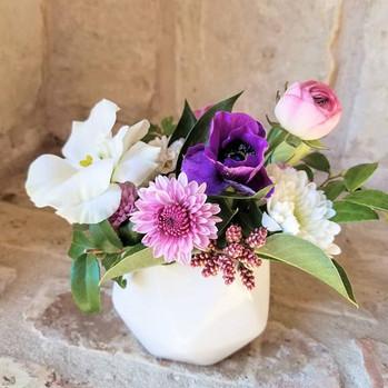 Sweetest mini arrangement!  Small enough