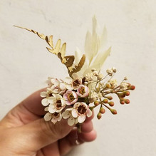 Sweet little boutonniere. Sometimes the