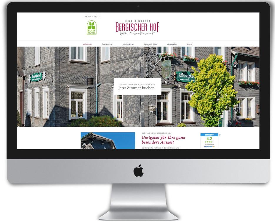 Bergischer-Hof Website