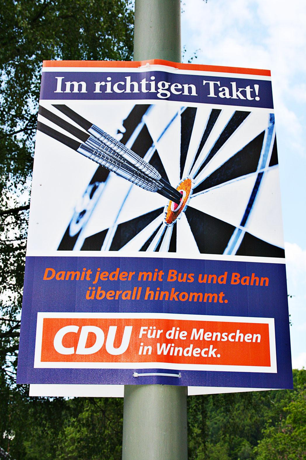 Wahlplakat CDU-Windeck 2014