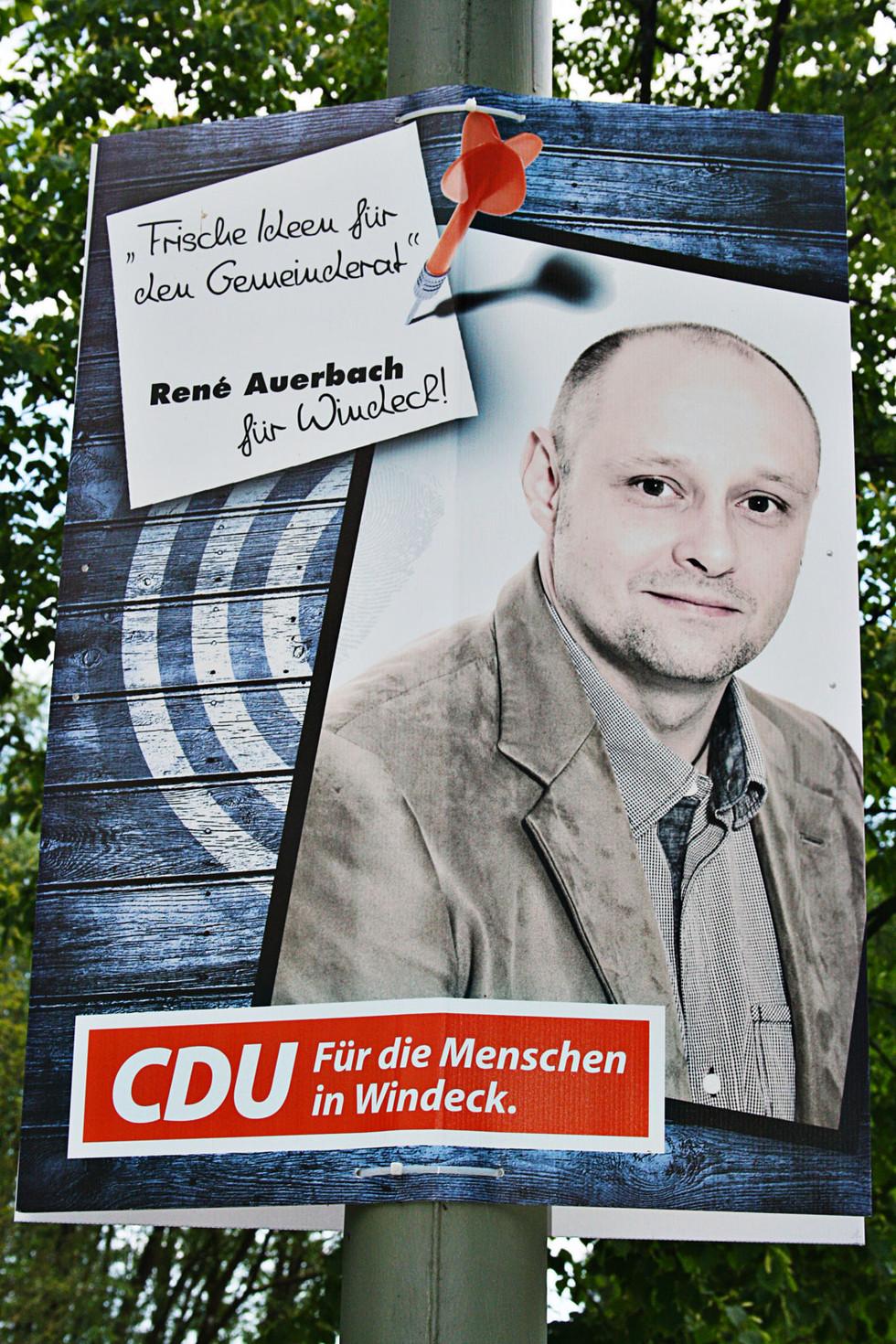 Wahlplakat CDU-Windeck Kandidaten 2014