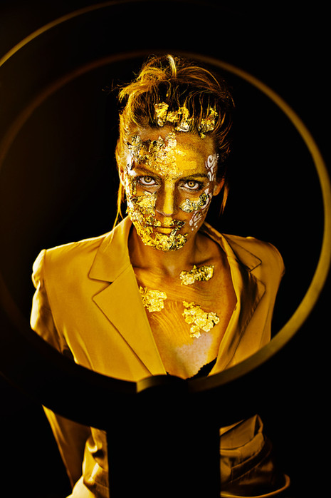 Goldrausch-Fotoshooting bei Finezza