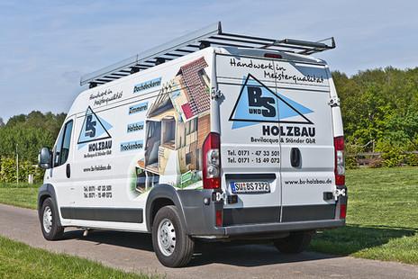 B&S-Holzbau Fahrzeugbeschriftung