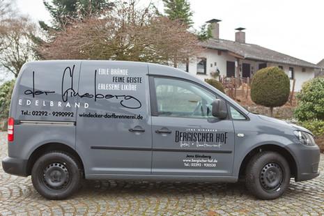 Der Ginsberg Fahrzeugbeschriftung