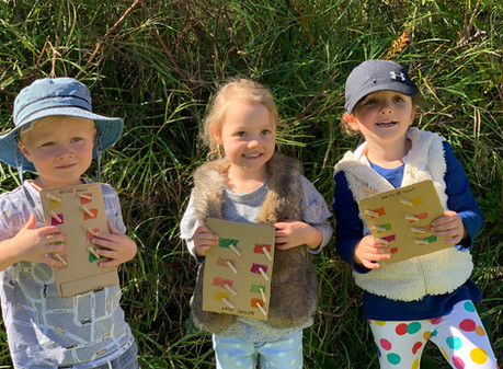 Mindful nature activities for the whole family!