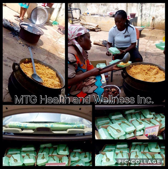 Ramadan 2018: We fed about 120 less privileged people in 2 seperate locations in Ibadan, Oyo State, Nigeria