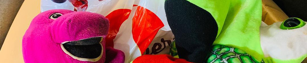 December 8 donation of stuffed toys for children