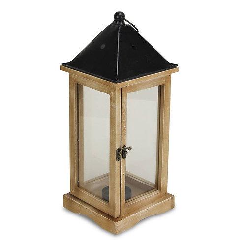 Lantern - Wood with Metal Roof