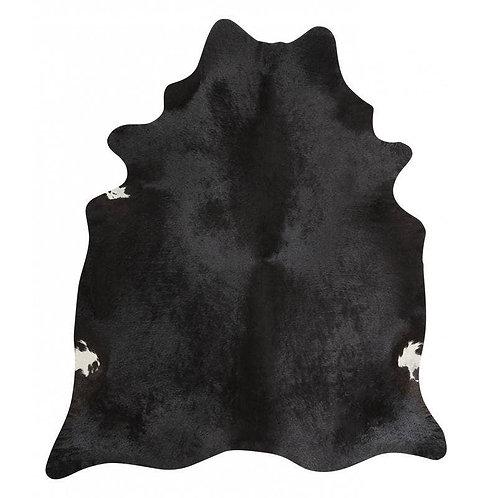 Natural Black Cowhide